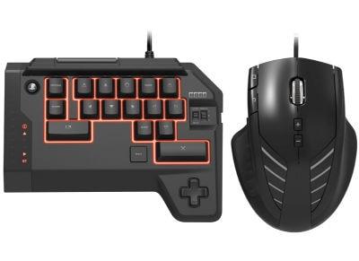 Hori Tactical Assault Commander 4 - Πληκτρολόγιο & Ποντίκι PS4 Μαύρο gaming   αξεσουάρ κονσολών   ps4   χειριστήρια