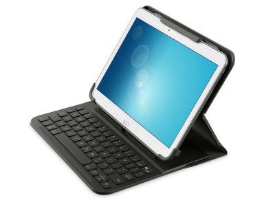 "Belkin QODE Βάση Πληκτρολόγιο για Tablet 10"" Μαύρο"