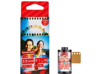 Lomography 100 Color Negative Film F3361 3 τεμ.