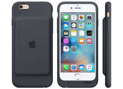 Θήκη με μπαταρία iPhone 6s - Apple Smart Battery Case MGQL2ZM/A Γκρι