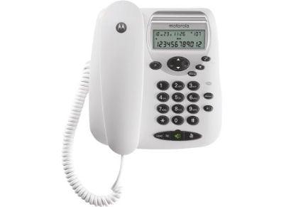 Motorola CT2W Ενσύρματο Τηλέφωνο Λευκό 14587-9242