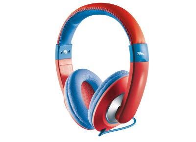 Ακουστικά Κεφαλής Trust Sonin Kids Κόκκινο