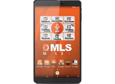 """MLS iQTab Master 8 Tablet 8"""" 16GB Μπλε"""