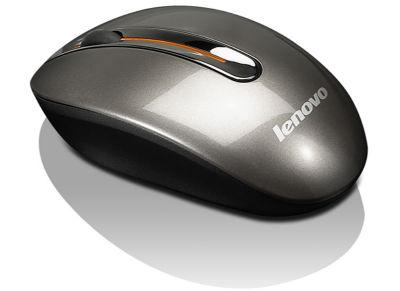 Ασύρματο Ποντίκι Lenovo N3903A Wireless Ασημί