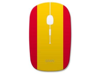 Omega Optical Wireless OM0414FS Aσύρματο Ποντίκι Κίτρινο