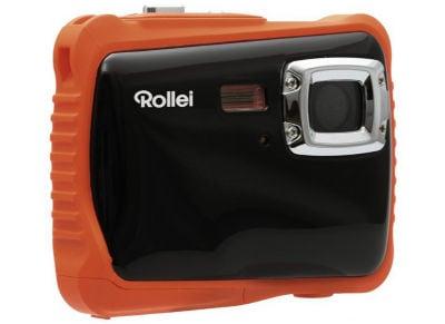 Compact Rollei Sportsline 65 Αδιάβροχη - Πορτοκαλί & Θήκη Μεταφοράς