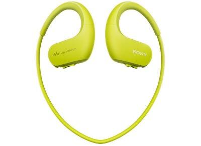 Αδιάβροχα Ακουστικά & MP3 Sony NW WS413 4GB Lime