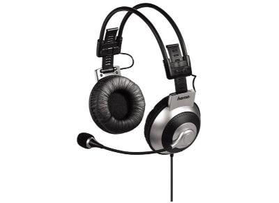 Ακουστικά Κεφαλής Hama HS-400 53988 Ασημί