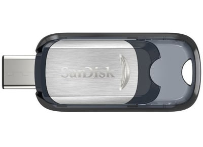 USB stick SanDisk Ultra 64GB 3.1 Type-C SDCZ450-064G-G46 Ασημί