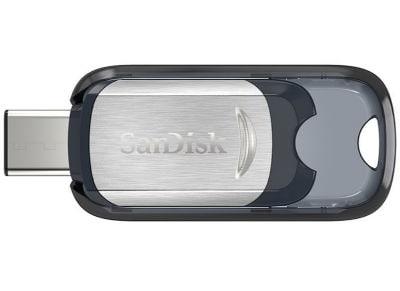 USB stick SanDisk Ultra 64GB 3.1 Type-C SDCZ450-064G-G46 Ασημί