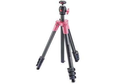 Τρίποδο Manfrotto Compact Light Tripod - Ροζ φωτογραφία   αξεσουάρ φωτογραφικών   τρίποδα   selfie stick