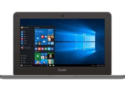 """Laptop Quest Slimbook - 10.1"""" (Z3735F/2GB/32GB / HD)"""