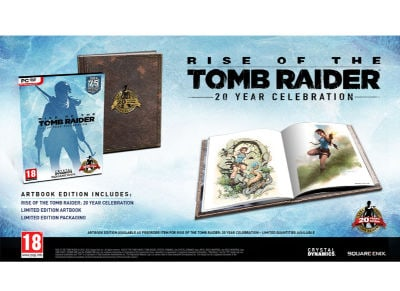Rise of the Tomb Raider 20th Anniversary Celebration Digibook Edition - PC Game