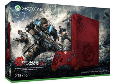 Microsoft Xbox One S Gears of War 4 Limited Edition - 2TB