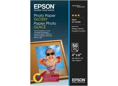 Epson Photo Glossy - Χαρτί Φωτογραφικό 10x15 - 50 φύλλα
