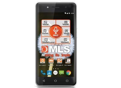"""MLS More 5"""" Ασημί Dual Sim Smartphone"""