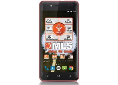 """MLS More 5""""  Ροζ Dual Sim Smartphone"""
