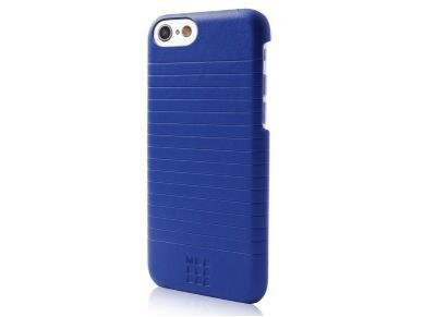 Θήκη iPhone 8/7 - Moleskine Leather Case MOHCP7DLDB Μπλε