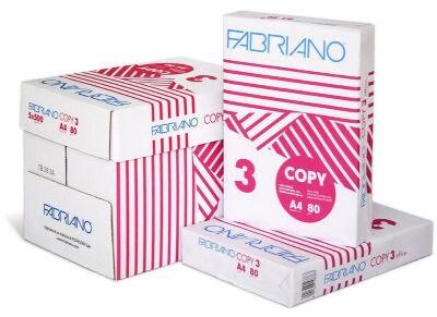 Κιβώτιο 5 τμχ - Χαρτί εκτύπωσης A4 Fabriano 80gr - 2500 φύλλα