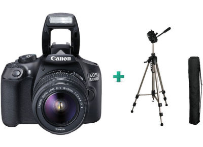 Canon EOS 1300 Kit 18-55mm IS & Τρίποδο HAMA Star 62