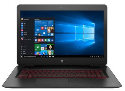 "Laptop HP Omen 17w100nv 17.3"" (i76700HQ/16GB/2TB&128GB/GTX1060)"