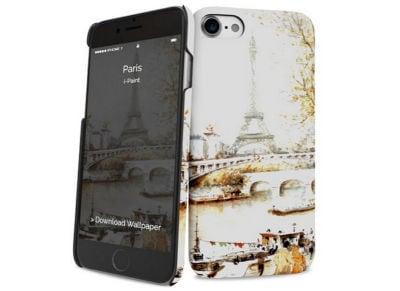 Θήκη iPhone 7 - iPaint Paris 131005 Hard Case