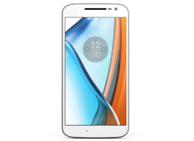 4G Smartphone Lenovo Moto G4 - Dual Sim 16GB Λευκό