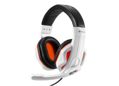 Sharkoon Rush ER1 - Gaming Headset Λευκό