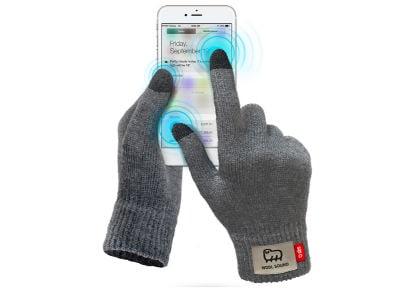 SBS Touch Gloves Large - Γάντια για οθόνη αφής TEWOOLGLOVESLK Γκρι