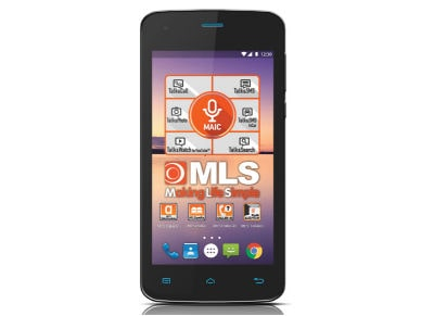 MLS Color Mini - Dual Sim Μαύρο - 4G Smartphone