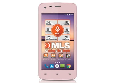 MLS Color Mini - Dual Sim Ροζ - 4G Smartphone