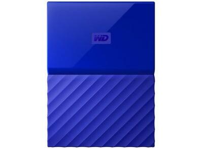 """Εξ. σκληρός δίσκος WD My Passport 1ΤΒ 2.5"""" USB 3.0 Μπλε"""
