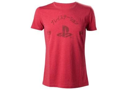 T-Shirt PlayStation 1994 Logo - Κόκκινο M