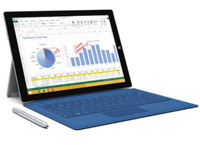 "Laptop Microsoft Surface Pro 4 - 12.3"" (i7-6650U/8GB/256GB/HD540)"