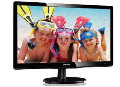 """Οθόνη υπολογιστή 19.5"""" Philips 200V4LAB2/00 - HD Ready LED"""