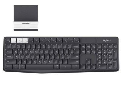 Logitech K375s Wireless Keyboard & Smartphone Stand περιφερειακά   πληκτρολόγια   ασύρματα πληκτρολόγια