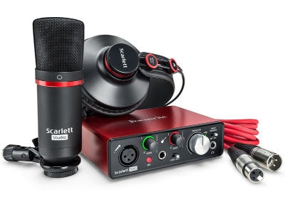 Πακέτο Ηχογράφησης Focusrite Scarlett Solo Studio (2nd Generation)