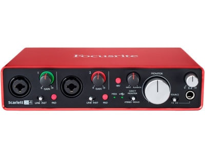 Κάρτα Ήχου USB Focusrite Scarlett 4i2 (2nd Generation)