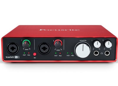 Κάρτα Ήχου USB Focusrite Scarlett 6i6 (2nd Generation)