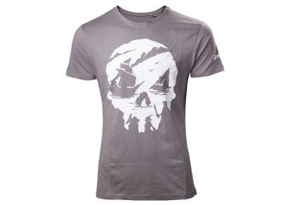 T-Shirt Bioworld Sea of Thieves - Sea of Thieves- Skull- Γκρι S