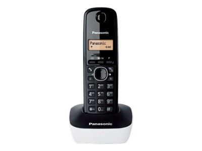 Panasonic KX-TG1611GRW Ασύρματο Τηλέφωνο Λευκό