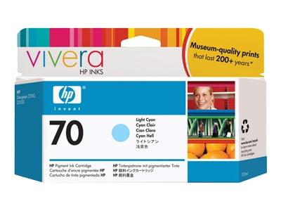 Μελάνι HP Inkjet 70 Ανοιχτό κυανό