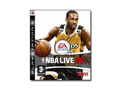 PS3 Used Game: NBA Live 2008 gaming   used games   ps3 used