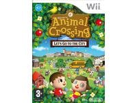 Nintendo Selects Animal Crossing Let's Go to The City - Wii Game