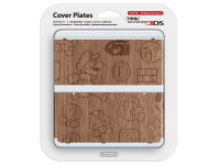 New Nintendo 3DS Coverplate - Wooden Super Mario Bros