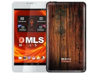 "MLS iQTab Designs Tablet 8"" 8GB Wood Texture Deep"