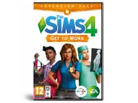 The Sims 4 Get to Work - Expansion Pack - PC Game