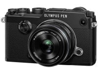 Mirrorless Camera Olympus Pen F & EW-M 17mm f/1.8 - Μαύρο