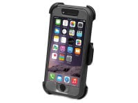 Θήκη iPhone 6/6S - SBS Work shockproof clip Μαύρο