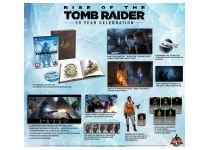Rise of the Tomb Raider 20th Anniversary Digibook Edition - PS4/PSVR Game